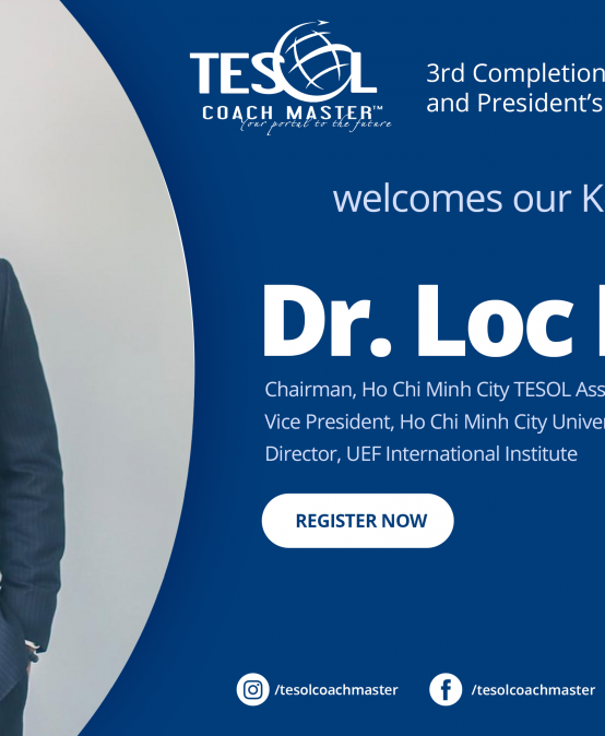 TCMMeet: Dr. Loc Do -our Keynote Speaker for the upcoming TCM 3rd Completion Ceremony and President's Day